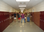 Down The Halls, To The Lockers!
